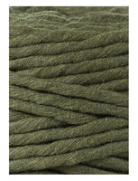 Bobbiny 5mm AVOCADO Single Twist Macrame Cord 100m