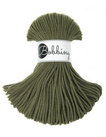 Bobbiny 3mm AVOCADO Cotton Cord 100m