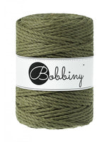Bobbiny 5mm AVOCADO 3ply Macrame Cord 100m