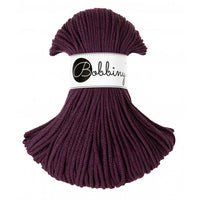 Bobbiny 3mm BLACKBERRY Braided Cord 100m