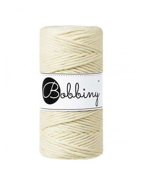 Bobbiny 3mm BLONDE Single Twist Macrame Cord 100m