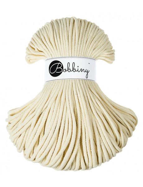 Bobbiny 5mm BLONDE Braided Cord 100m