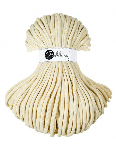 Bobbiny Jumbo 9mm BLONDE Braided Cord 100m