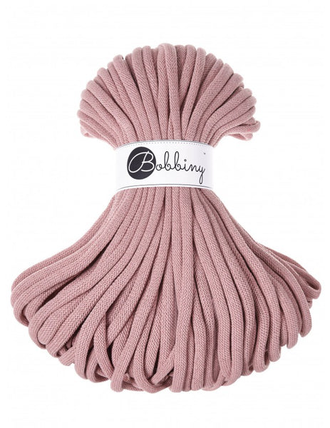 Bobbiny Jumbo 9mm BLUSH Braided Cord 50m