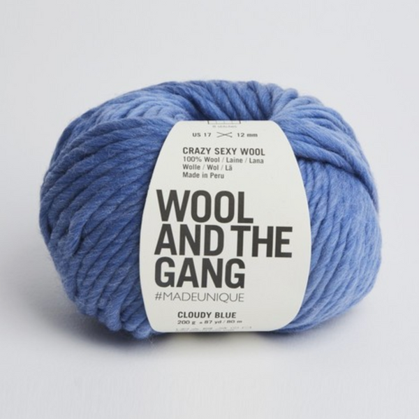 *WATG Crazy Sexy Wool CLOUDY BLUE discontinued