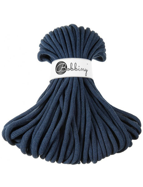 Bobbiny Jumbo 9mm DENIM Cotton Cord 50m