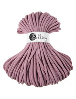 Bobbiny Jumbo 9mm DUSTY PINK Braided Cord 50m
