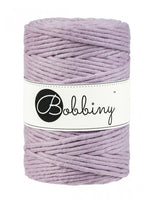 Bobbiny 5mm DUSTY PINK Single Twist Macrame Cord 100m