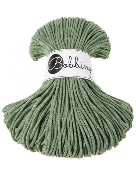 Bobbiny 3mm EUCALYPTUS Cotton Cord 100m