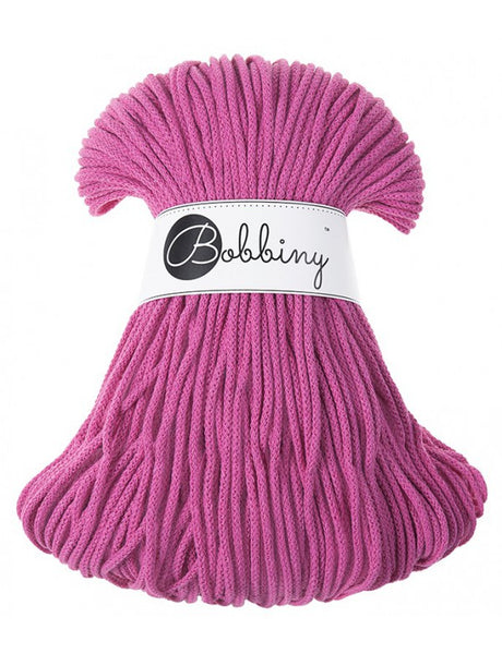 *Bobbiny 3mm HOT PINK Cotton Cord 100m