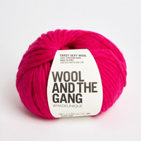 WATG Crazy Sexy Wool HOT PUNK PINK