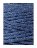 Bobbiny 5mm JEANS Single Twist Macrame Cord 100m