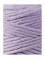 Bobbiny 3mm LAVENDER Single Twist Macrame Cord 100m