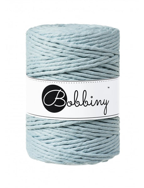 Bobbiny 5mm MISTY Single Twist Macrame Cord 100m