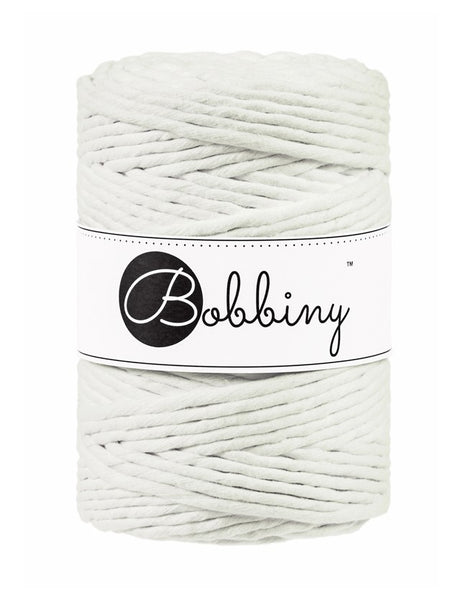 Bobbiny 5mm NATURAL Single Twist Macrame Cord 100m