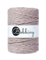 Bobbiny 5mm PEARL Single Twist Macrame Cord 100m