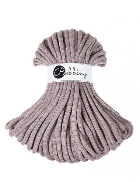 Bobbiny Jumbo 9mm PEARL Cotton Cord 50m