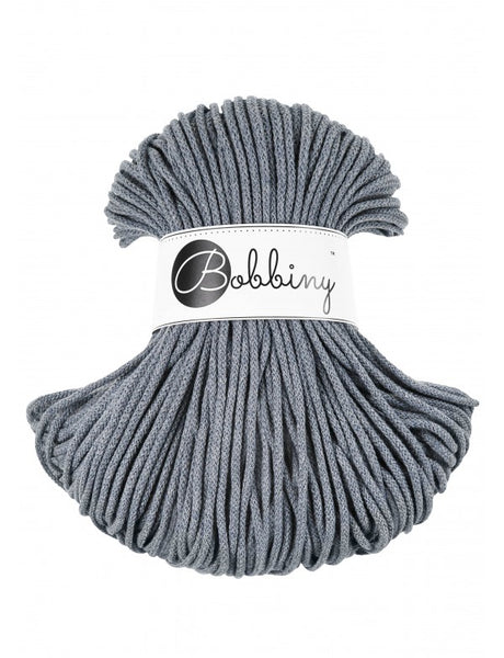 Bobbiny 3mm RAW DENIM Braided Cord 100m