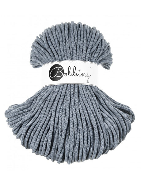 Bobbiny 5mm RAW DENIM Braided Cord 100m LAST ITEMS!