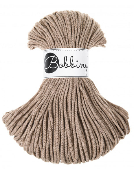 Bobbiny 3mm SAND Cotton Cord 100m
