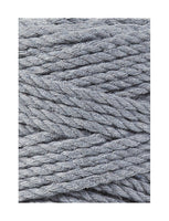 Bobbiny 3mm STEEL 3ply Macrame Cords 100m