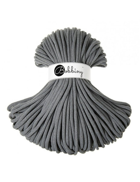 Bobbiny Jumbo 9mm STEEL Braided Cord 100m