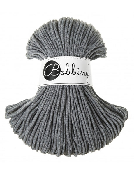Bobbiny 3mm STEEL Cotton Cord 100m