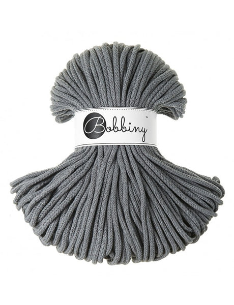 Bobbiny 5mm STEEL Braided Cord 100m