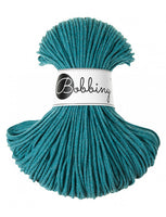 Bobbiny 3mm TEAL Braided Cord 100m