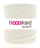 Hoooked T-Shirt Yarn White Sheep