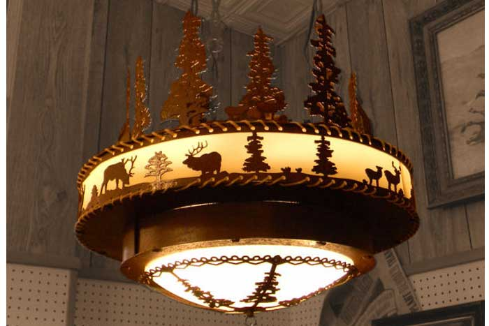 "Forest 24"" Chandelier"