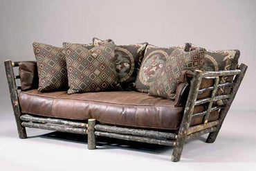 Strange Western Red Leather Sofa Upscale Distressed Leather Couch Short Links Chair Design For Home Short Linksinfo