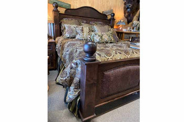 King Size Arden Bed With Nightstands