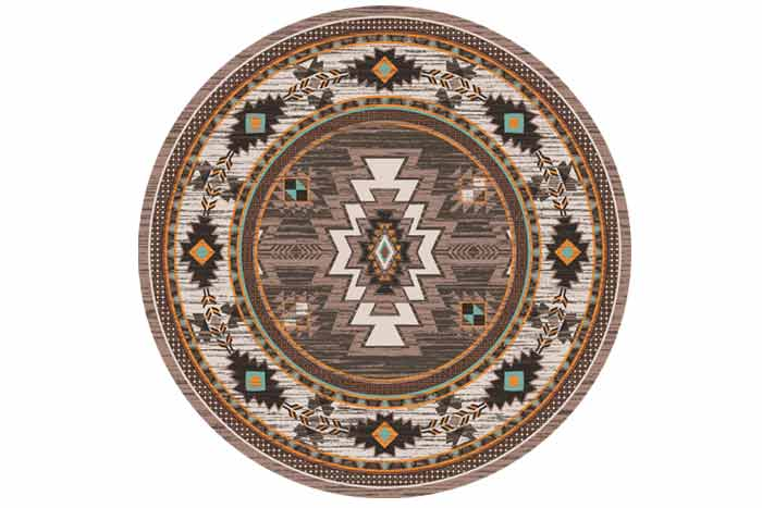 Barrel Southwest Rug