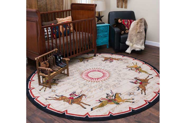 Battle Records Area Rug