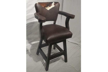 Maribel Bar Chair - Cowhide