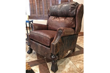 Western Leather Recliner