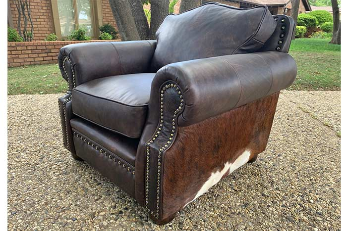 Legends Chair and Storage Ottoman