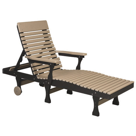 Poly Outdoor Chaise Lounge