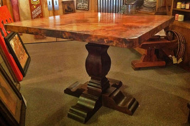 Copper Pub Table