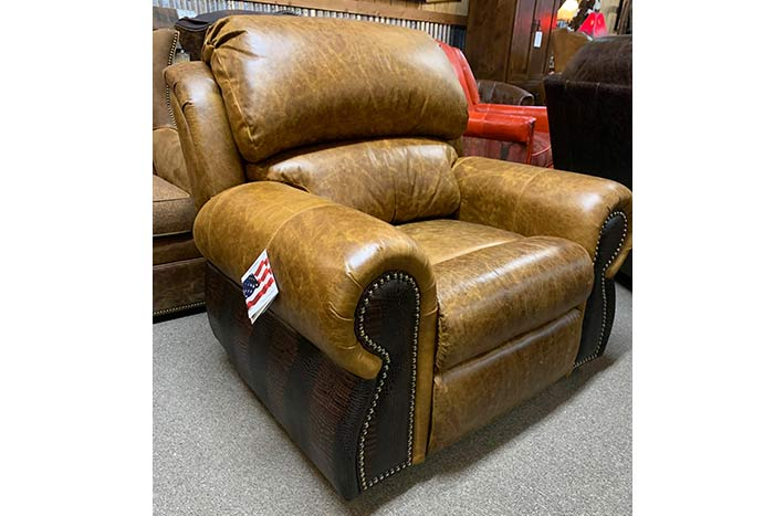 Coralino Swivel Glider Recliner with Gator