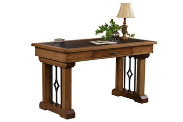 Beckham Writing Desk with Leather Top