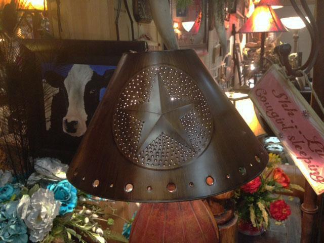 Tin Empire Lamp Shade