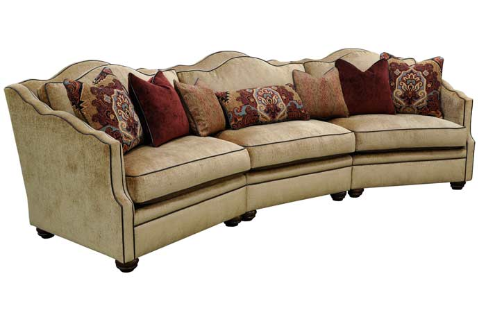 Escapade Curved Sofa