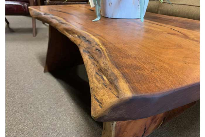 Live Edge Mesquite Coffee Table