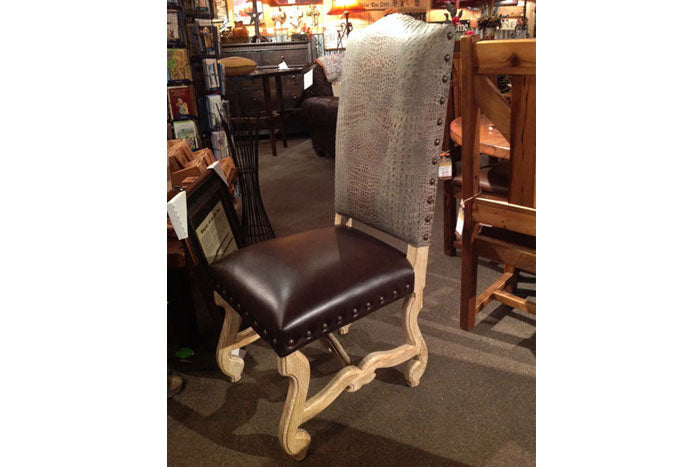 Gator Leather Dining Chair