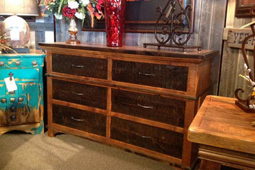 Glen Stone 6 Drawer Dresser