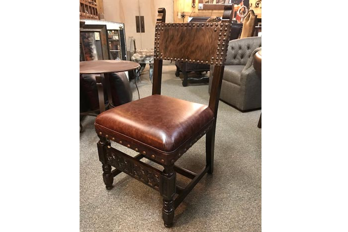 Hacienda Cowhide Dining Chair