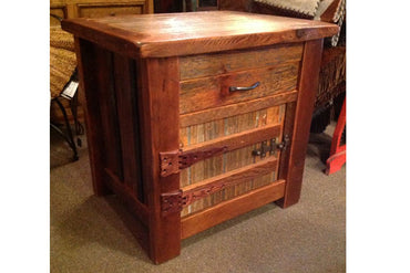 Nightstand With Hidden Drawer