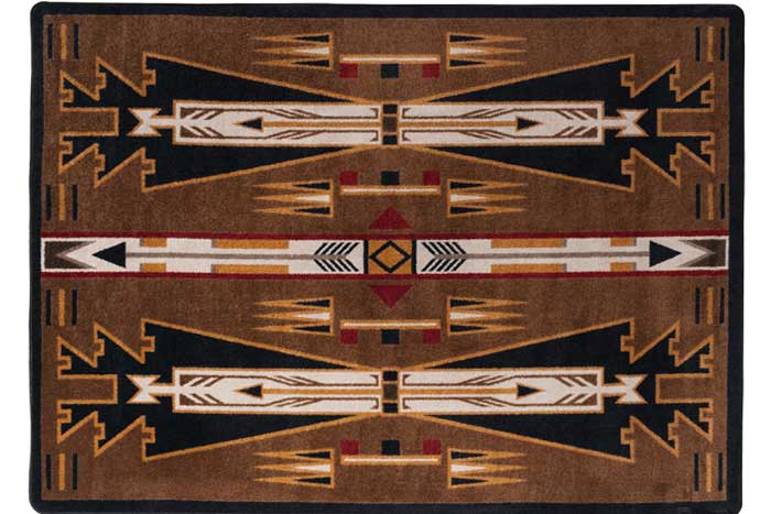 Horse Thieves Southwest Rug